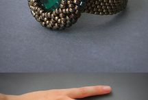 bead embroidery rings