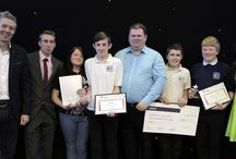 Junior Enterprise Awards Evening 2014 / Wednesday 9th July saw the final of the third Junior Enterprise Competition at the Mansfield Civic Centre.  The competition, run as a partnership between the Mansfield Learning Partnership and Mansfield 2020, gave students from schools across Ashfield and Mansfield the opportunity to create their own business and sell their products to the general public.