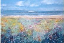 Laure Bury art / Artist and art columnist, Laure has found inspiration in the diversity of colours and textures of nature and the natural landscape. The vibrant and contrasting colours of her work reflect the warmth and richness of the Mexican and Spanish cultures as well as the more gentle light of the south west of England.