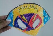 Masques de carnaval / Masques de carnaval