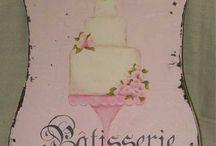 art illustrations cakes
