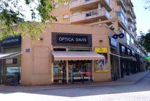 OPTICA SAVIS Tienda / Tienda en Valencia. Luis Buñuel 3 acc 46015 Valencia