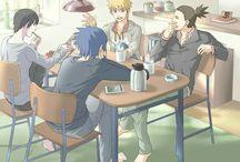 Naruto + Friends