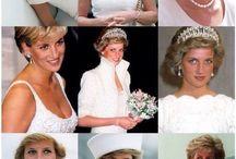 Diana in white & Grey
