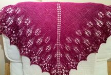 My hand knitted shawls