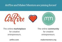 Maker Mentors Guest Bloggers / In this board you will find the speakers & mentors at Maker Mentors. ArtFire is collaborating Maker Mentors to help you, the creative small business owner, take the next step in growing your business through custom goal setting. / by Artfire.com