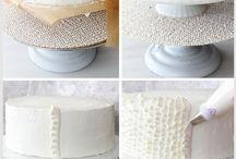 Buttercream Design Cake tutorial