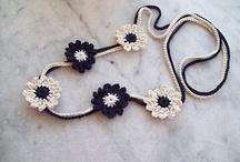 crochet jewelery- bizou