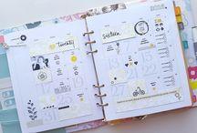 Carolina Pretorius' Hello Forever Planner 2016 / Planner pages
