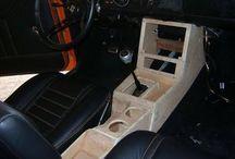 accesorios en madera  para carros