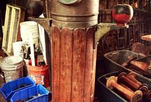 Nautical Splendor / Vintage nautical items and ideas for their transformation!