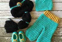 crochet baby character clothes
