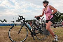 swim bike run / by Heidi Schmidt