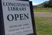 Longtown Community Library / Open every Wednesday and first Saturday in the month