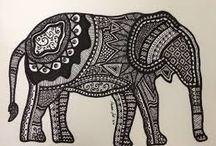 Tatuaje Elefant