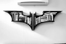 "For the Hubby's ""Bat Cave"" / by Holly Michalchuk"