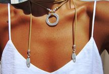 Boho necklaces