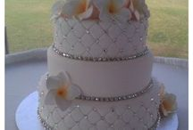 Different designs and style wedding cakes