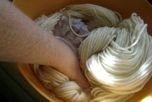 Dyeing Diva / Dyeing yarn and wool