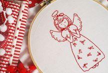 Karácsonyi hímzés