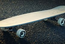 Concrete Longboards / Ride the concrete with concrete! Monomentals designed, developed and built a couple of longboards made of UHP concrete. We invite you to discover the boards, which are likely to be the first ones in the world. Enjoy!