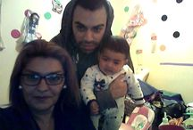 regaloneando con mi hijo y mi nieta