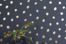 WALLS / Wallpaper, murals, fabric or painting design, wall  hangings.