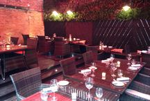 Truscott Arms / This great pub was further improved by a great awning in there outdoor dining terrace. With the lights and heaters included, we created another multi purpose room for all year round.