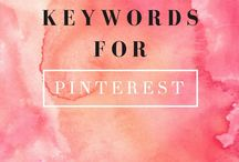 Pinterest Strategies / Pinterest strategies, How to grow your Pinterest, Find the right Pinterest Keywords.