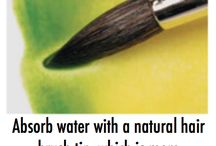 watercolour painting / a collection of tips on watercolour and beautiful watercolour art