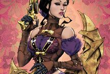 Lady mechanika / Artwork  / by Craig Cramond