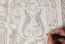Ebony rainn coloring books / Beautiful coloring book by Ebony Rainn all of her books have a cute whimsical style. The has free coloring pages on her website ebonyrainn.com    #coloring#coloringbook#coloringforadults#coloringforgrownupa#detailedcoloring#coloringcraze#ebonyrainn#colouringbook#johannabashford#beautifulcoloringbook#drawing#fineliner#artist#illustrator#ebonyrainn#fineliner#illustrationoftheday#illustration#sketch#drawing#artstagrams #artstagram#artistoninstagram