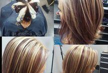 Окрашивание волос схемы
