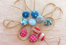 Stofknopen / fabric buttons diy