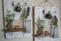 papan dan tanaman