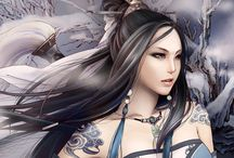 Oriental Fantasy - Female Characters