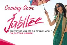 """Coming Soon """"Jubilee #Catalogue"""" by #Laxmipati_Sarees / Get georgette, chiffon embroidery saree from #Laxmipatisarees. at an affordable prices."""