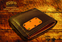 QUOIO LEATHER WALLETS / ORIGINAL WALLETS ENTIRELY HAND MADE.