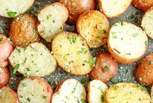 "Red Potatoes / Known for their subtly sweet taste and creamy texture,  red potatoes are frequently used to make tender yet firm potato salad or add pizazz to soups and stews, as well as being served baked or mashed. The possibilities are endless!"" / by Potato Goodness"
