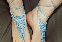 sandali azzurri