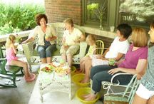 Home Spa Parties / Hosting a home spa party is a lovely way to pamper your friends with a fun, relaxing experience they'll never forget.  We show you how to do it, without complicated equipment or expensive products.