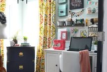 Office / Craft and sewing room ideas