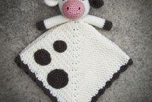 Cow comfort blankets