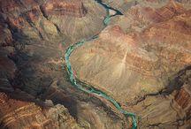 Fiumi e terre dallo spazio