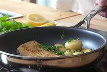 Sartenes Demeyere / Sartenes Demeyere, alta tecnología al servicio del usuario. Cocinar sano y ahoor de energía es posible gracias a estas sartenes.