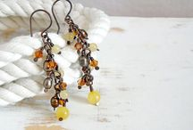 Yellow Stuff / All things sunshiny and yellow! / by Bluetina Jewellery