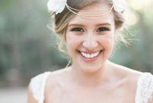 Romantic, Rustic, Soft makeup and hair design @ Grace Lin. / Romantic, Rustic, Soft makeup and hair design