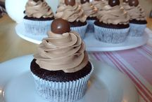 čokoladové cupcake