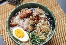 Asian foods