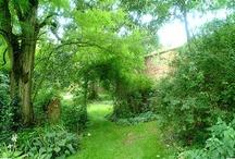 GARDEN...basics...flora fauna structures  / flora, fauna, fences, paths, borders, beds, etc